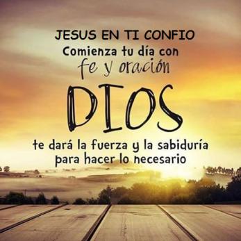 comienza tu dia con JesusDIOS